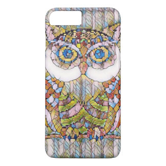 BEAUTIFULL BLUE EYED OWL iPhone 8 PLUS/7 PLUS CASE