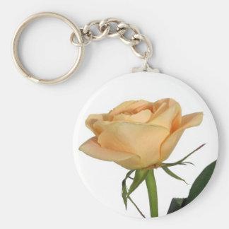 Beautifull yellow rose keychain