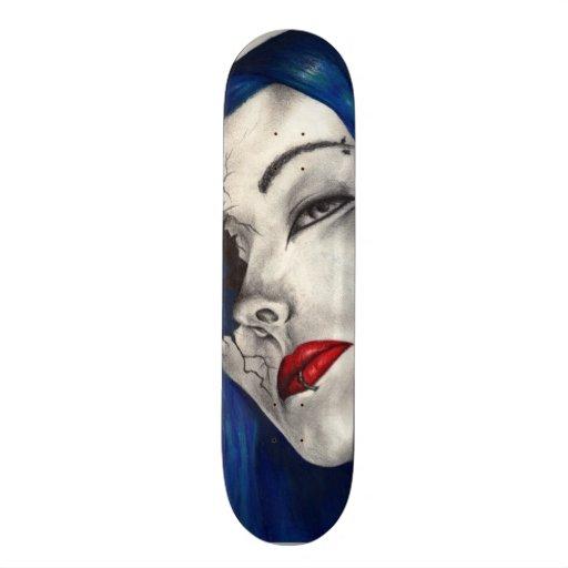 Beautifully Broken Fantasy Original Art Skate Deck