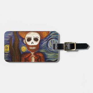 Beautifully Dead Van Gogh Luggage Tag