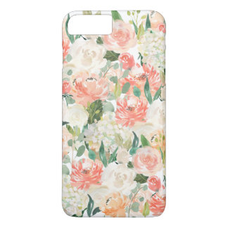 Beautifully Feminine Watercolor Floral Pattern iPhone 8 Plus/7 Plus Case
