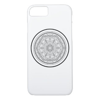 Beautifully Minimalist Mandala Design iPhone 8/7 Case