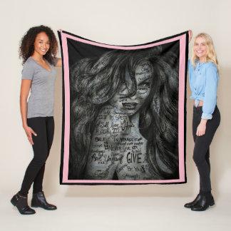 Beautifully Motivated Fleece Blanket