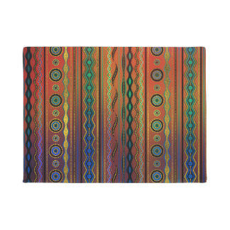 Beautuful Translucent Tribal Pattern Doormat