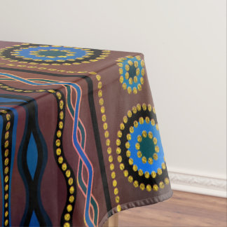 Beautuful Translucent Tribal Pattern Tablecloth