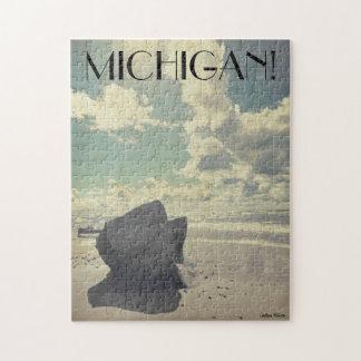 Beauty Along Lake Michigan Jigsaw Puzzle