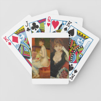 Beauty and Art can do everything Bicycle Playing Cards