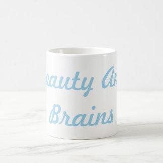 Beauty and Brains Mug