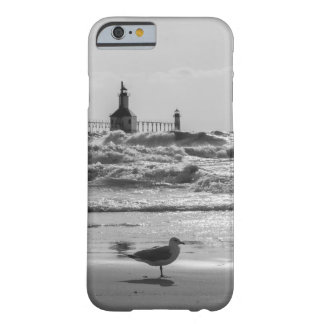 Beauty And Force Grayscale Barely There iPhone 6 Case