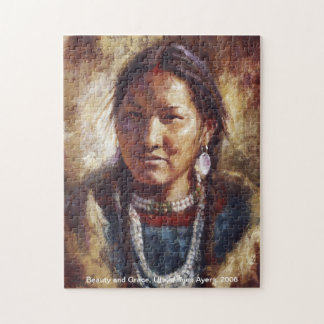 Beauty and Grace, Native American (Ute) puzzle