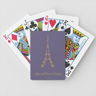 Beauty and the Beast | After All This Is France Bicycle Playing Cards