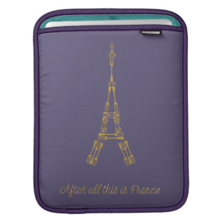 Beauty and the Beast | After All This Is France iPad Sleeve