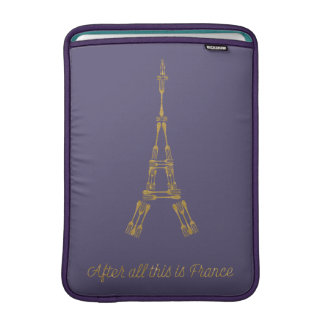 Beauty and the Beast | After All This Is France MacBook Sleeve