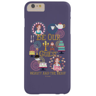 Beauty And The Beast | Be Our Guest Barely There iPhone 6 Plus Case