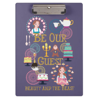 Beauty And The Beast | Be Our Guest Clipboard