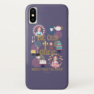 Beauty And The Beast | Be Our Guest iPhone X Case