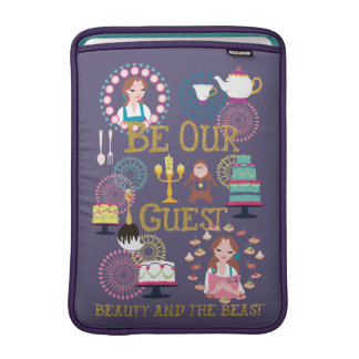 Beauty And The Beast | Be Our Guest MacBook Sleeve