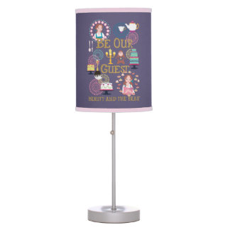 Beauty And The Beast | Be Our Guest Table Lamps