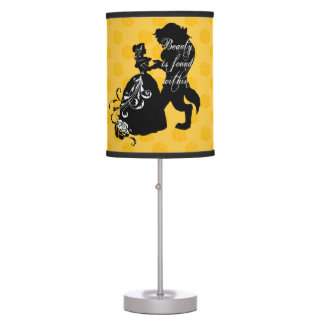 Beauty And The Beast | Beauty is Found Within Table Lamp