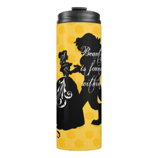Beauty And The Beast | Beauty is Found Within Thermal Tumbler