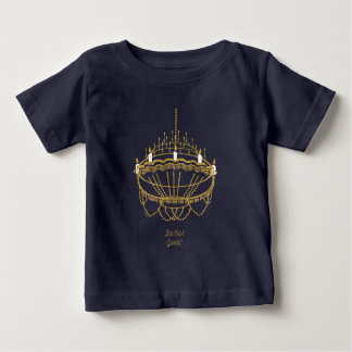 Beauty and the Beast | Chandelier - Be Our Guest Baby T-Shirt