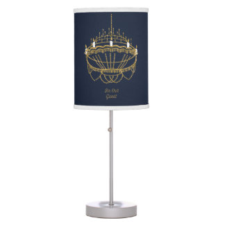 Beauty and the Beast | Chandelier - Be Our Guest Desk Lamp