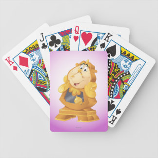 Beauty And The Beast | Cogsworth Bicycle Playing Cards