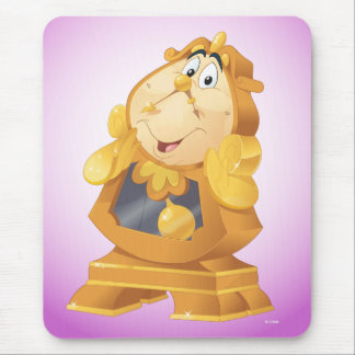 Beauty And The Beast | Cogsworth Mouse Pad