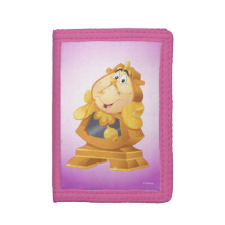 Beauty And The Beast | Cogsworth Trifold Wallets