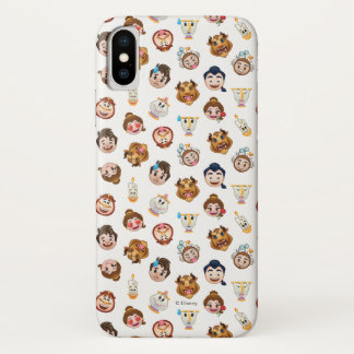 Beauty and the Beast Emoji | Character Pattern iPhone X Case