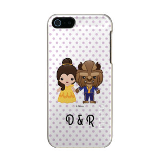 Beauty and the Beast Emoji Incipio Feather® Shine iPhone 5 Case