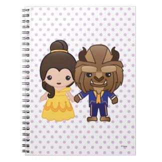 Beauty and the Beast Emoji Notebook