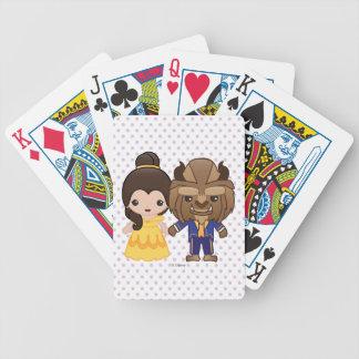 Beauty and the Beast Emoji Poker Deck