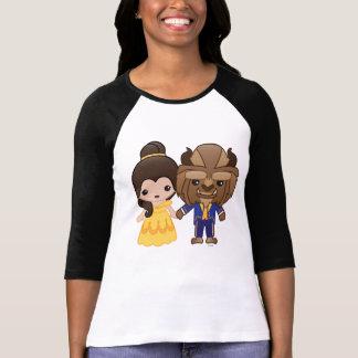 Beauty and the Beast Emoji T-Shirt