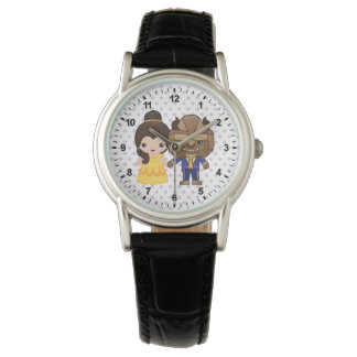 Beauty and the Beast Emoji Watch