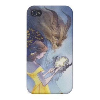 Beauty and the beast iPhone 4 case