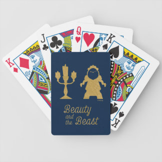 Beauty And The Beast | Lumiere & Cogsworth Bicycle Playing Cards