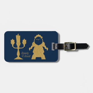Beauty And The Beast | Lumiere & Cogsworth Luggage Tag
