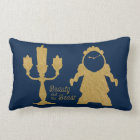 Beauty And The Beast | Lumiere & Cogsworth Lumbar Pillow