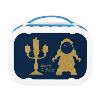 Beauty And The Beast | Lumiere & Cogsworth Lunchboxes