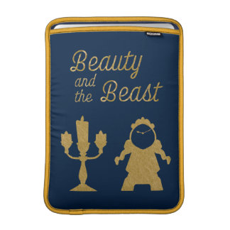 Beauty And The Beast | Lumiere & Cogsworth MacBook Sleeve