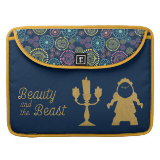Beauty And The Beast | Lumiere & Cogsworth Sleeves For MacBook Pro