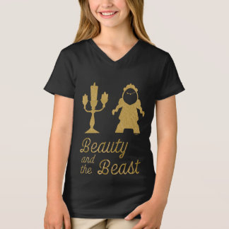 Beauty And The Beast | Lumiere & Cogsworth T-Shirt