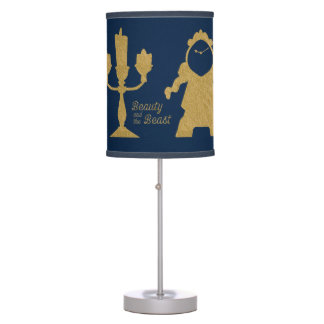 Beauty And The Beast | Lumiere & Cogsworth Table Lamps