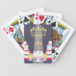 Beauty And The Beast | Lumiere With Cakes Poker Deck