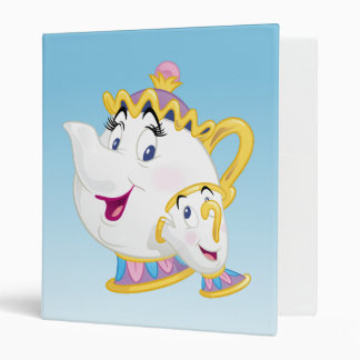 Beauty And The Beast | Mrs. Potts And Chip Binders