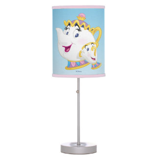 Beauty And The Beast | Mrs. Potts And Chip Desk Lamps