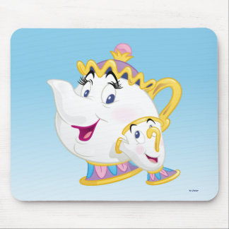 Beauty And The Beast | Mrs. Potts And Chip Mouse Pad