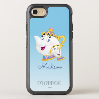 Beauty And The Beast   Mrs. Potts And Chip OtterBox Symmetry iPhone 8/7 Case