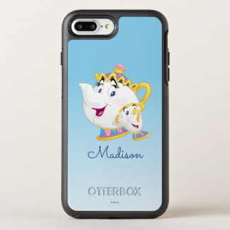 Beauty And The Beast | Mrs. Potts And Chip OtterBox Symmetry iPhone 8 Plus/7 Plus Case